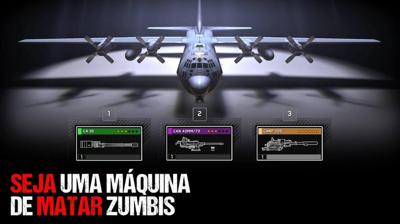 Zombie Gunship Survival APK MOD Munição Infinita 2021 v 1.6.34