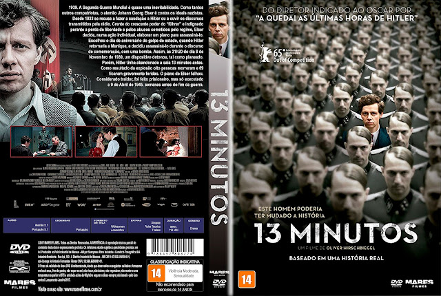 Capa DVD 13 Minutos