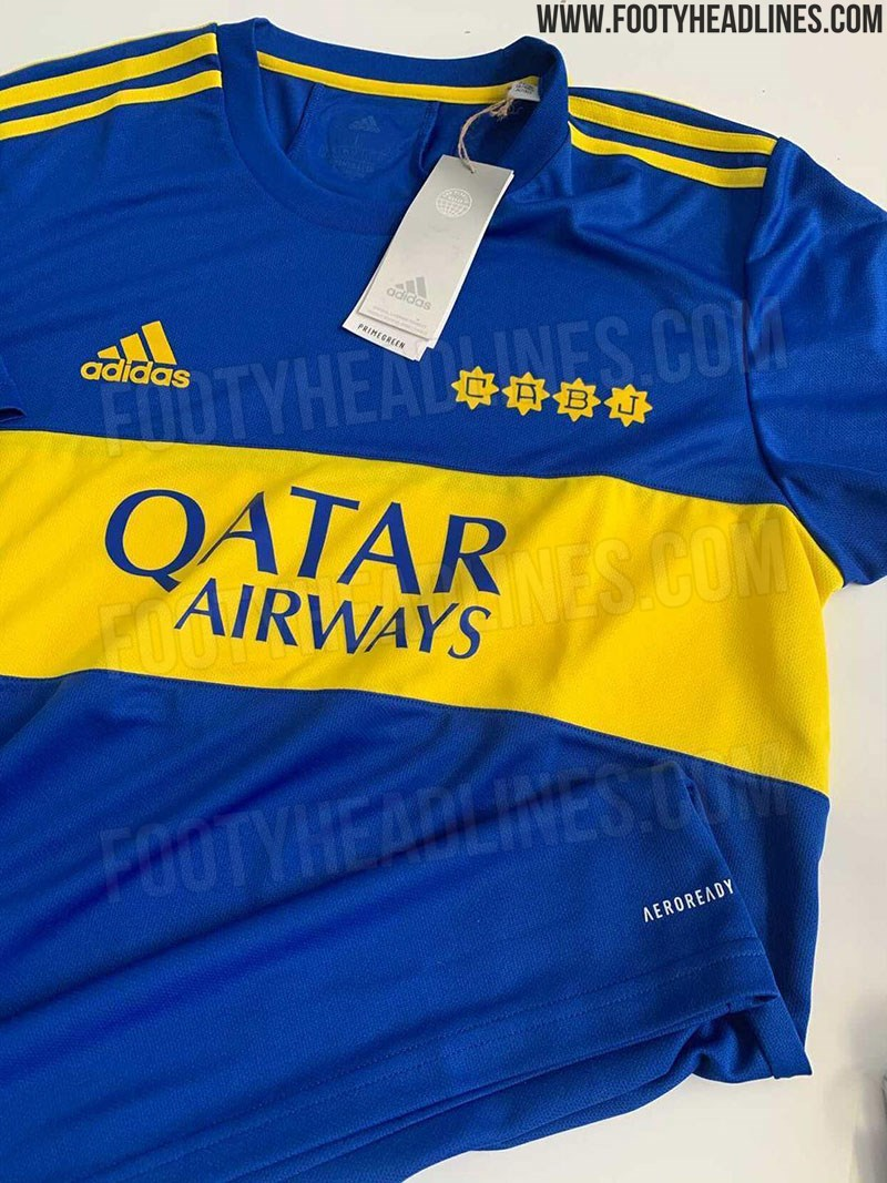 Adidas Boca Juniors 21-22 Home Kit Leaked