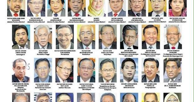 Menteri Di Jabatan Perdana Menteri Datuk Seri Abdul Wahid Omar ...