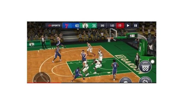 Download Latest NBA LIVE Mobile Basketball For Android