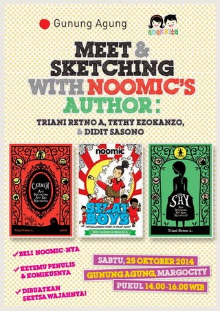 Meet and Sketching with Noomic's Author di Depok
