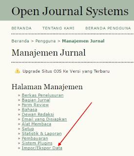 Manajemen Jurnal Open Journal System