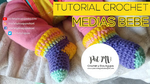 Medias para bebés super fáciles tejidas con sobrantes de lanas y 10 tutoriales con más ideas