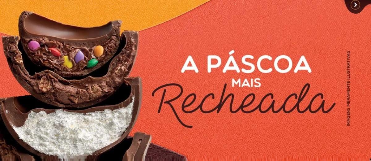 Promoção Brasil Cacau Páscoa 2020 Ovos Metade do Preço Segunda Unidade - 50% de Desconto