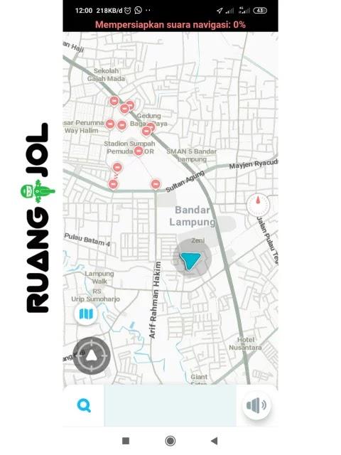 Cara Mengatasi Peta (Map) Aplikasi Driver Maxim yang Sering Nyasar Terbaru 2021