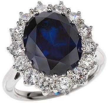 Diamond Ring Costume Jewelry