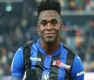 Colombian striker Duvan Zapata has been Atalanta's top scorer