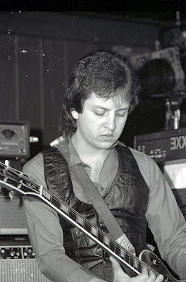 Condor on stage at The Cuss From Hoe club 1980