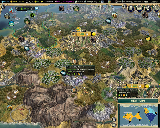 Civilization 5: Brave New World - Inca Terrace Farm