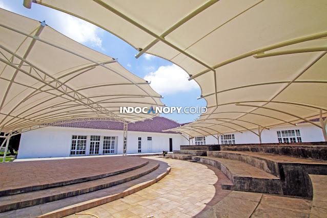 jasa canopy membrane depok
