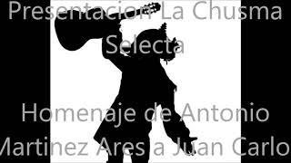 Homenaje de Antonio Martinez Ares a Juan Carlos Aragon