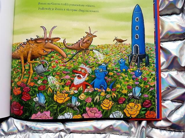 Ćmony i Smeśki - Julia Donaldson - Axel Scheffler - książka twórców Gruffalo - Nasza Księgarnia - książki dla dzieci - książka o tolerancji - blog rodzicielski - blog parentingowy