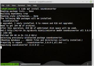 Cara Mengubah File Audio Di GNU/Linux Menggunakan Soundconverter