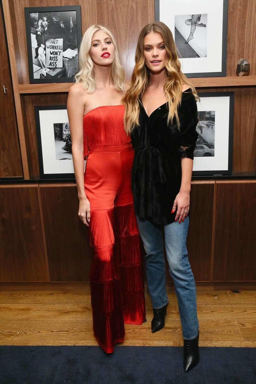 Nina Agdal attends Jeffrey Rudes Of L'Agence Dinner - 02/05/2019