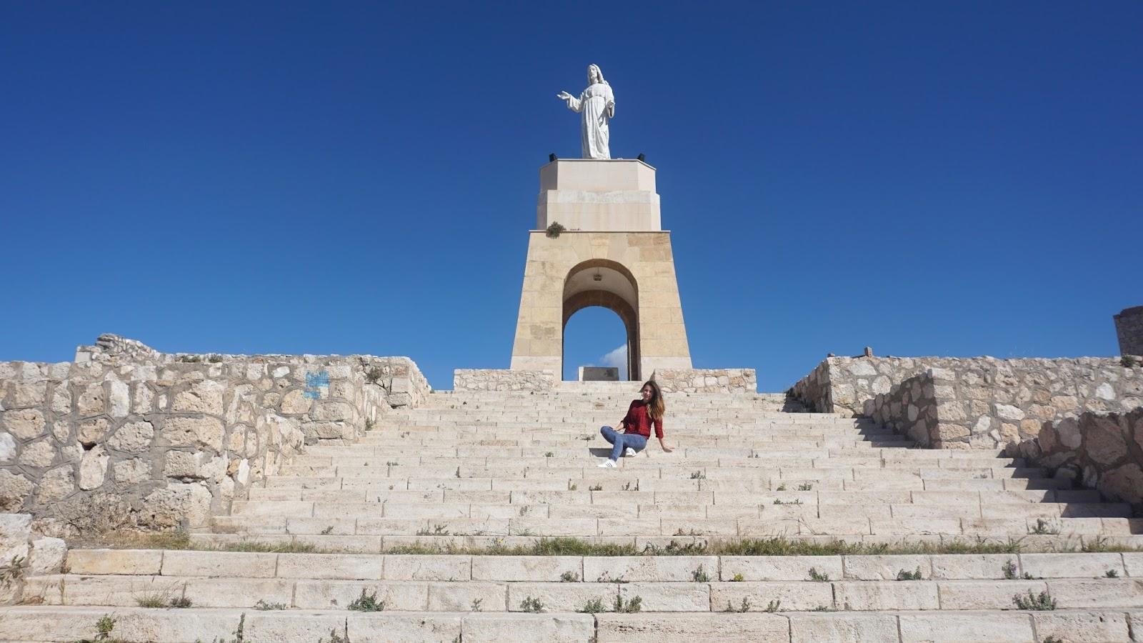pomnik Jezusa w Almerii, Hiszpania, atrakcje Hiszpanii, Almeria