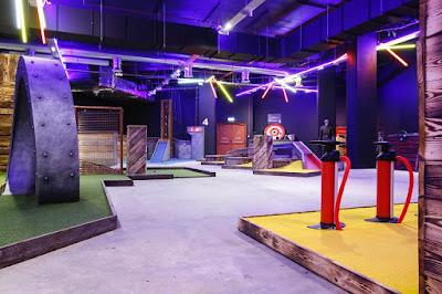 Boom: Battle Bar Norwich. Photo courtesy of HM Adventure Golf, July 2020