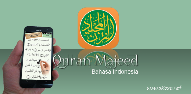 Quran Majeed Bahasa Indonesia Apk Data