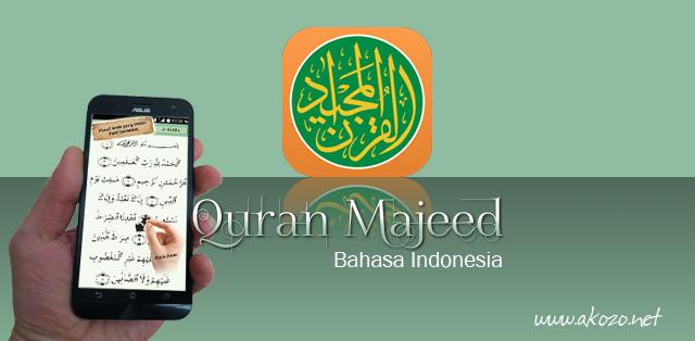 Quran Majeed v2.9.83h Bahasa Indonesia Apk Data (Full Unlocked)