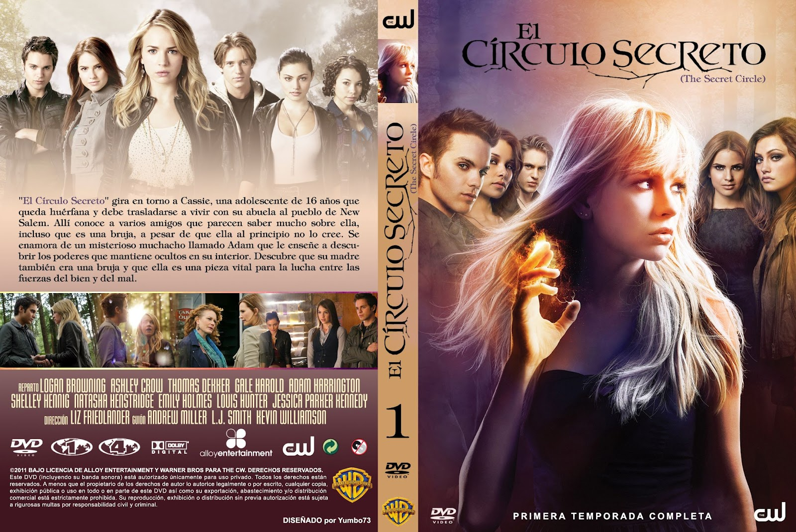 El Circulo Secreto Libro Series Tv El Circulo Secreto The Secret Circle Dvdhd