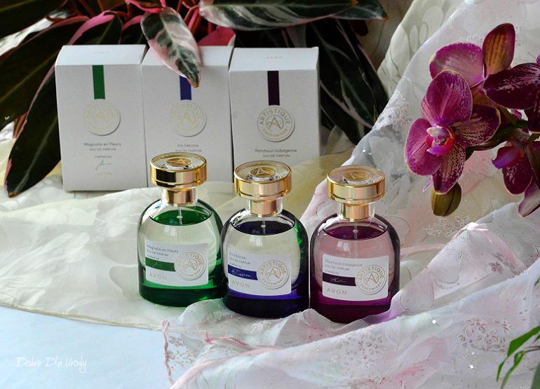 AVON Artistique - perfumy stworzone we Francji recenzja