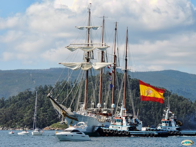 Juan Sebastián de Elcano - Spanish training ship