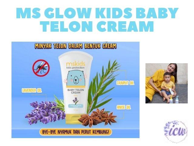 Ms glow kids tanpa iritasi