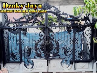 Model Pagar Besi Tempa Modern Klasik Jakarta
