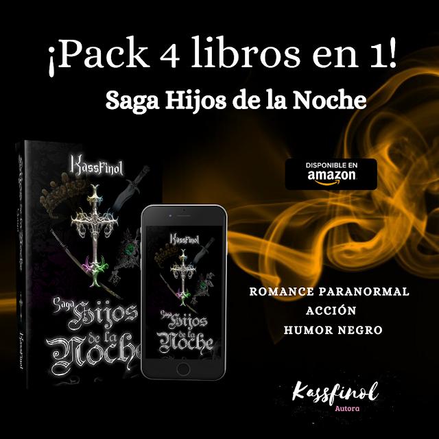 Pack Saga Hijos de la noche de Kassfinol