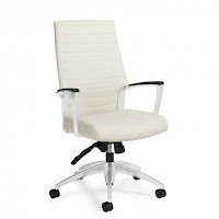 Global Total Office Accord Ribbed Back Chair at OfficeAnything.com