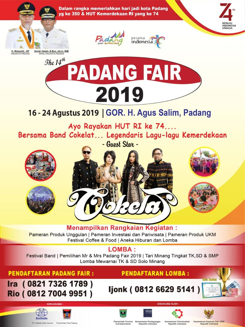 Pemko Kembali Selenggarakan Pameran Padang Fair 2019