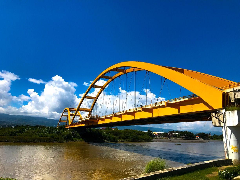 Jembatan Kuning Kota Palu