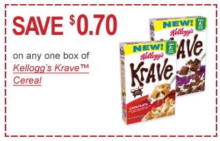 Krave coupon printable
