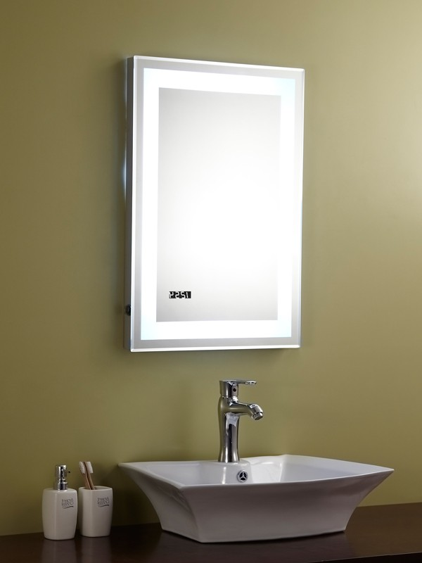 Spiegel mit beleuchtung und steckdose  Hause Dekoration Ideen