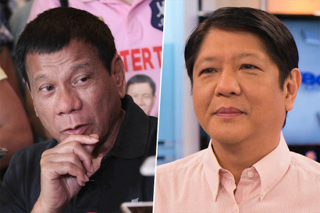Duterte, Marcos lead partial results of local absentee voting