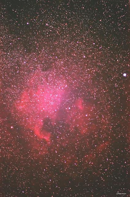 North America and Pelican nebula/  Pentax k5 + O-GPS1 @ DA*200 F2.8 LPS-P2 濾鏡