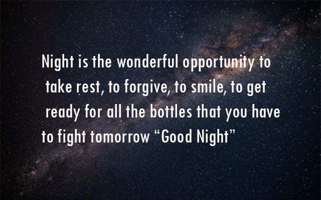 Sweet good night quotes