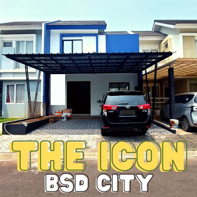 Rumah Baru The Icon BSD City Full Renov Semi Furnished