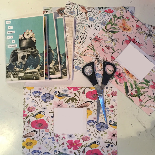 How to create your own zine Self Publish Mixed Media Art