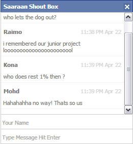 Membuat Chat Seperti Facebook Dengan PHP Mysql dan Jquery