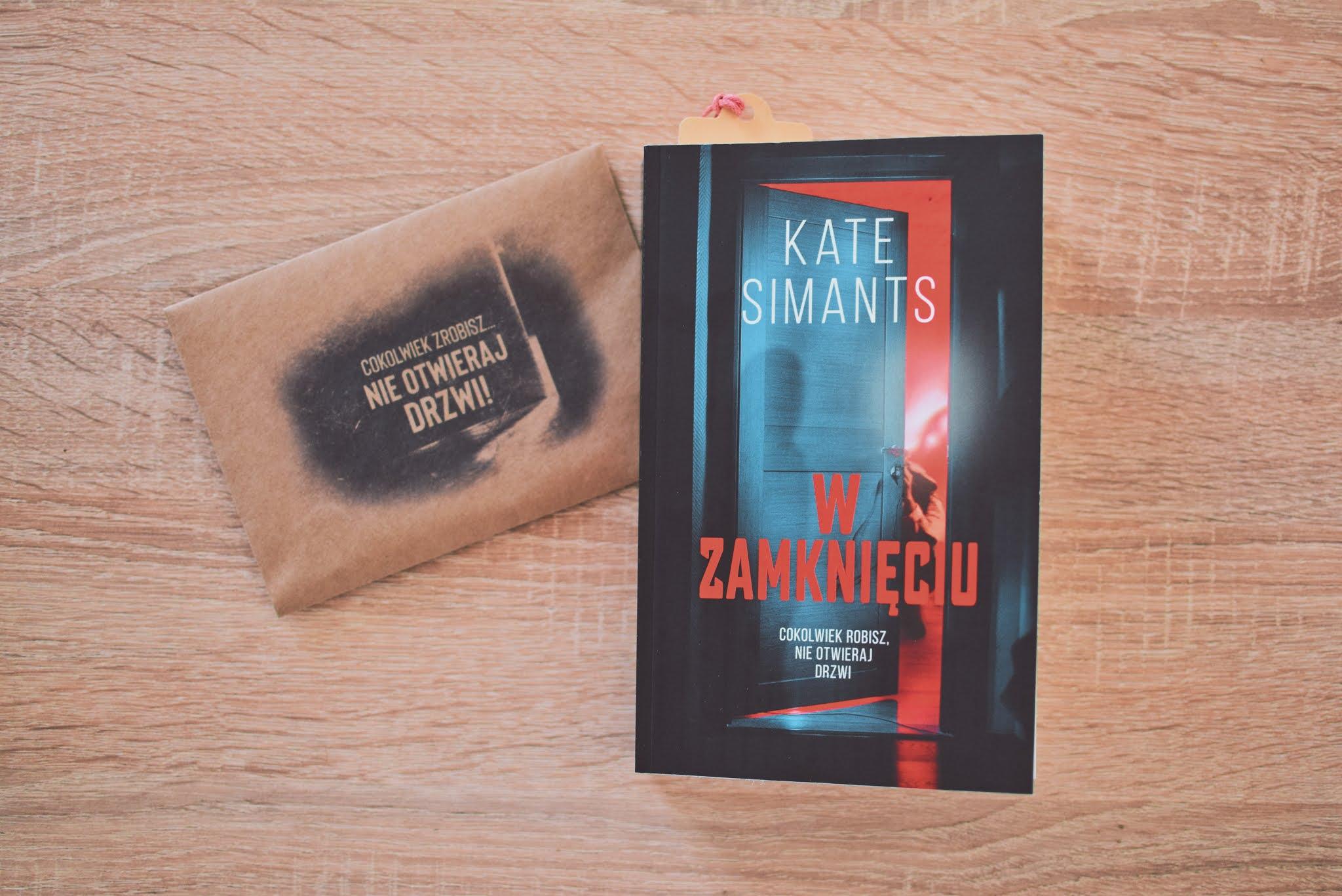 KateSimants, WZamknięciu, thriller,WydawnictwoMuza,MuzaBlack,dysocjacjatożsamości,młodzież,opowiadanie,recenzja,