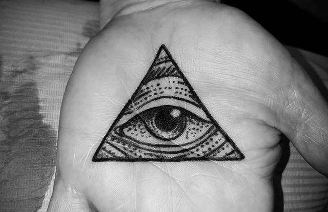 Gambar Tato Mata Satu | All Seeing Eye | Mata Ilahi