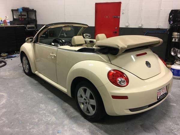 2007 VW Beetle Convertible