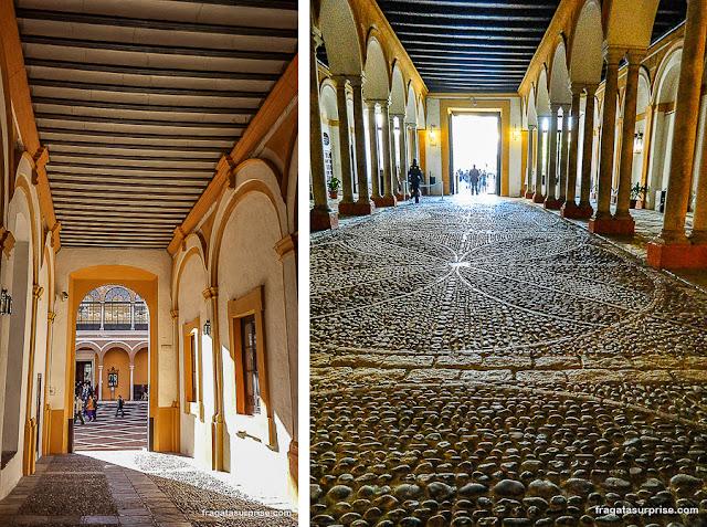 cavalariças do Real Alcázar de Sevilha