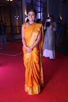 Shalini Pandey in Beautiful Orange Saree Sleeveless Blouse Choli ~  Exclusive Celebrities Galleries 059.JPG