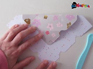 piega la scatolina per bomboniere porta confetti