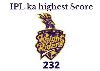 आईपीएल सबसे ज्यादा रन बनाने वाली 10 टीमें   IPL Ka Sabse Bada Score   IPL ka highest Score.