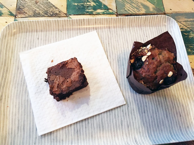 Farmstand Covent Garden muffin brownie