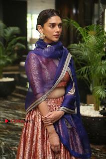 Aditi Rao Hydari Stills in Lehenga Choli at Cheliyaa Telugu Movie Audio Launch Event  0032.JPG