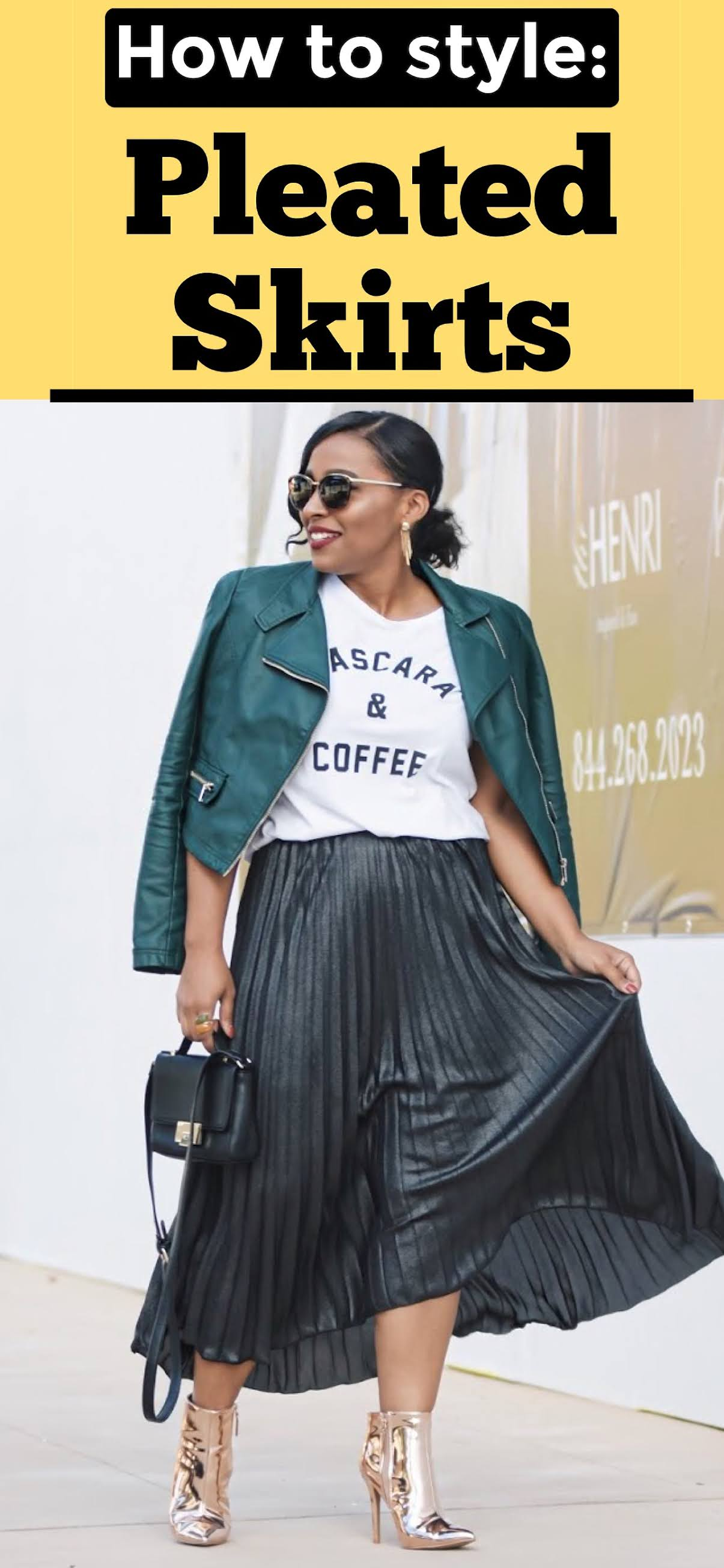 how to style a pleated skirt, pleated skirt outfits, skirt outfit ideas, pattys kloset, long skirts